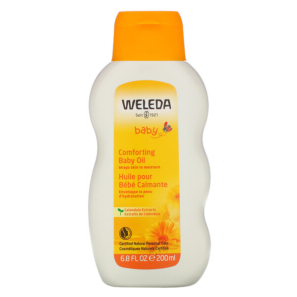 Baby, Comforting Baby Oil, Calendula Extracts, 6.8 fl oz (200 ml)
