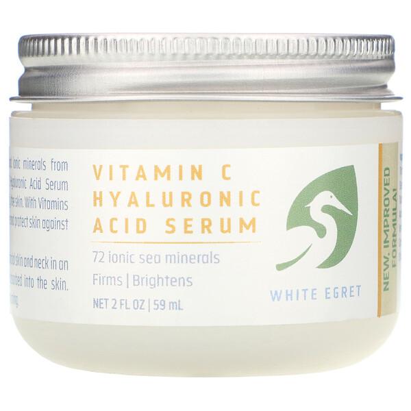 Сыворотка с гиалуроновой кислотой и витамином C, 2 жидких унции (59 мл)