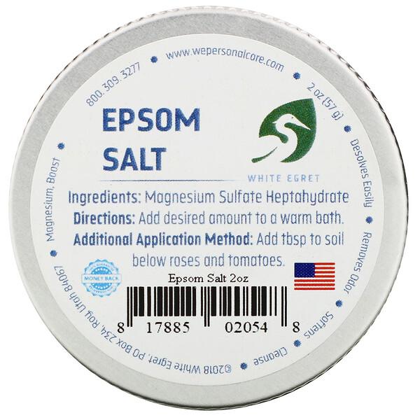 White Egret Personal Care, Английская соль, 57 г (2 унции)