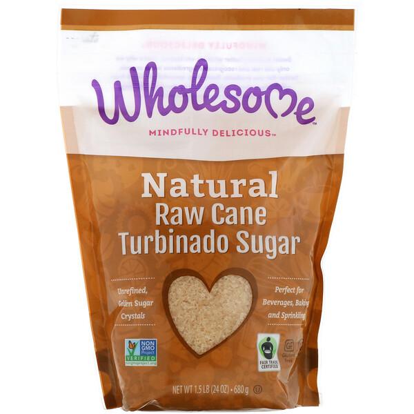 Сырой тростниковый сахар, 24 унции (681 г)