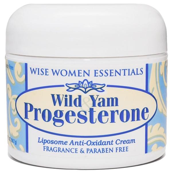Wise Essentials, Прогестерон с диким ямсом, 2 унции (56,7 г) (Discontinued Item)