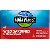 Wild Planet, Дикие сардины в соусе маринара, 4.375 унций (125 г)
