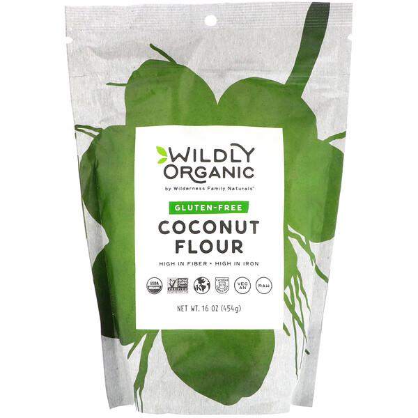 Wildly Organic, Coconut Flour, Gluten-Free, 16 oz (454 g)