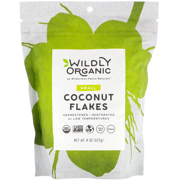 Coconut Flakes, Small, 8 oz (227 g)