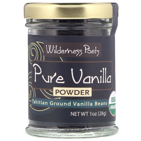 Чистый ванильный порошок, стручки ванили, выращенные на Таити, 28г (1унция)