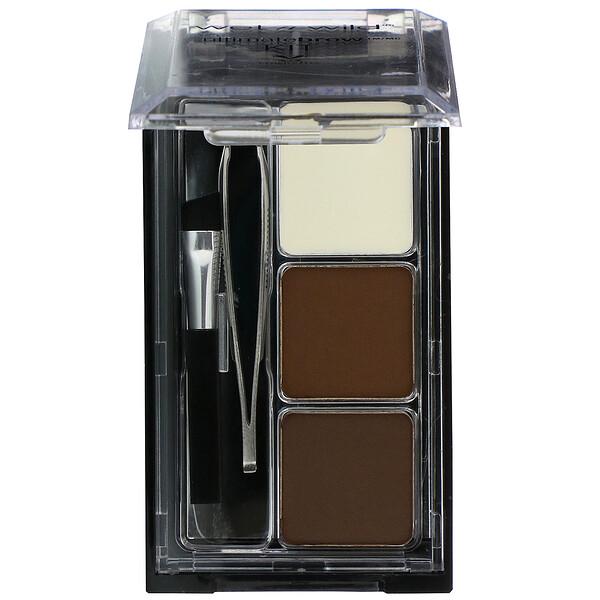Ultimate Brow Set, Dark Brown, 0.09 oz (2.5 g)
