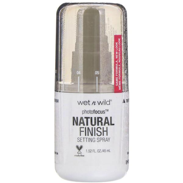 Спрей для фиксации макияжа PhotoFocus с натуральным эффектом, Seal the Deal, 45мл