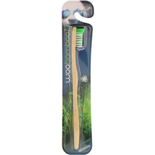 Зубная щетка для взрослых, средней жесткости, 1шт.
