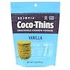 Sejoyia, Coco-Thins, печенье-закуска с кешью, ваниль, 99 г
