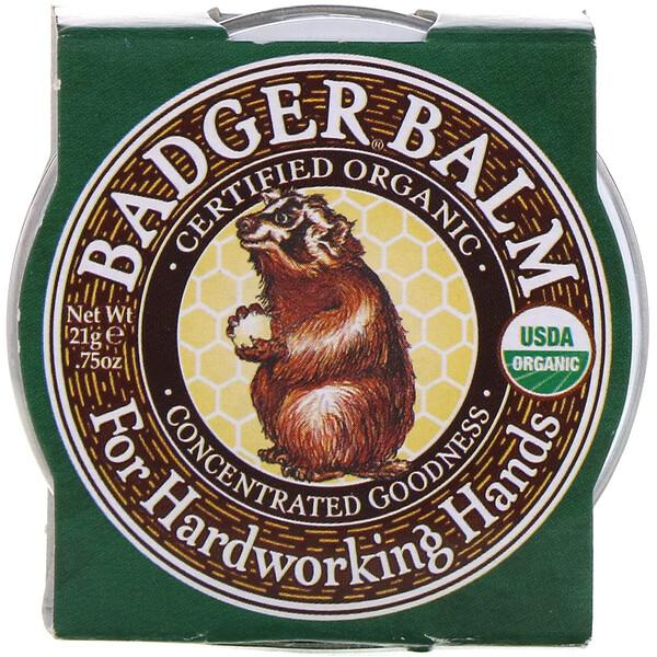 Badger, бальзам для рабочих рук .75 унции (21 г)