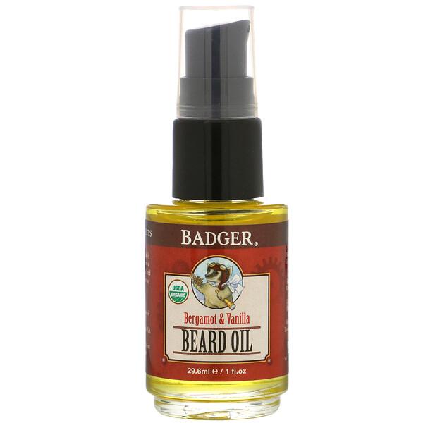 Navigator Class, Beard Oil, Bergamot & Vanilla, 1 fl oz (29.6 ml)