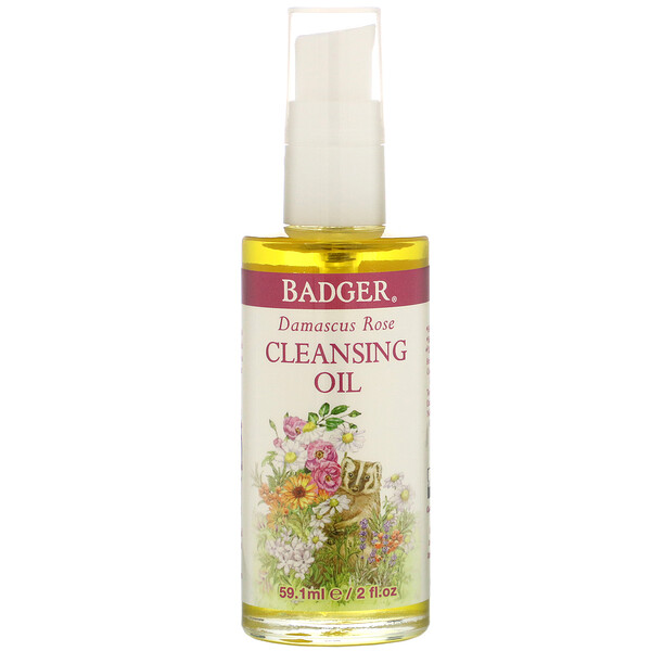 Face Care, Damascus Rose Cleansing Oil, 2 fl oz (59.1 ml)