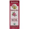 Badger Company, Масло для лица, дамасская роза, для сухой, нежной кожи, 29,5 мл (1 жидкая унция)