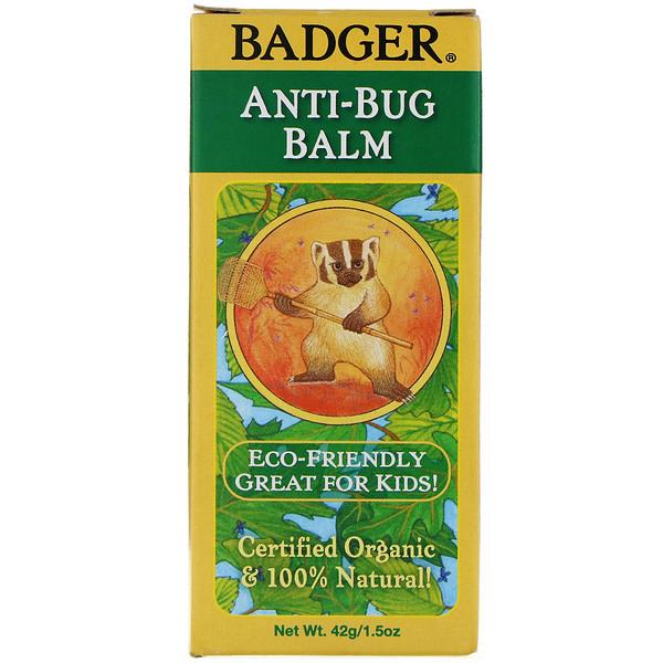 Badger Company, Органический бальзам After-Bug, 42 г (1,5 унции) (Discontinued Item)