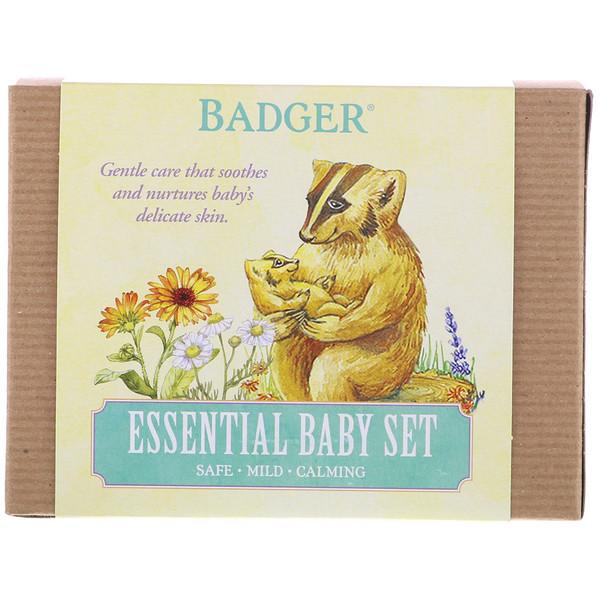 Badger Company, Базовый набор для ребенка, набор из 3 предметов (Discontinued Item)