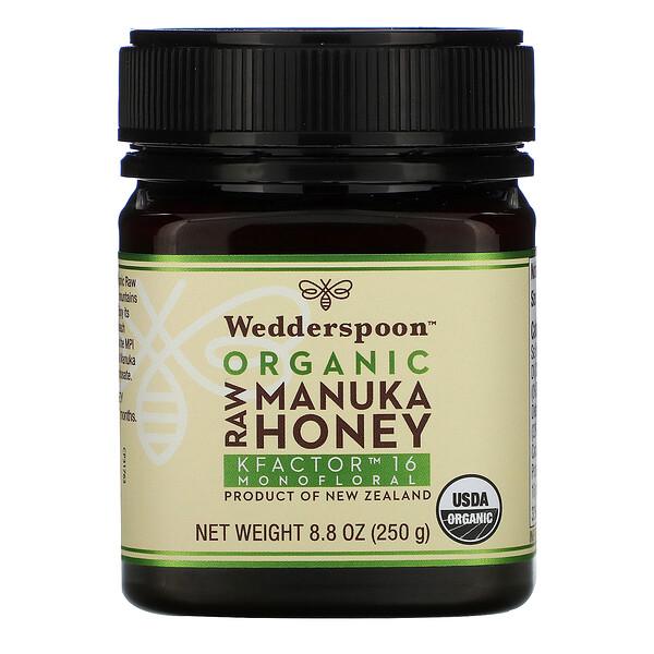 Organic Raw Manuka Honey, KFactor 16, 8.8 oz (250 g)
