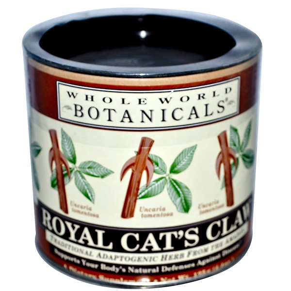 Whole World Botanicals, Royal Cat's Claw, 125 г