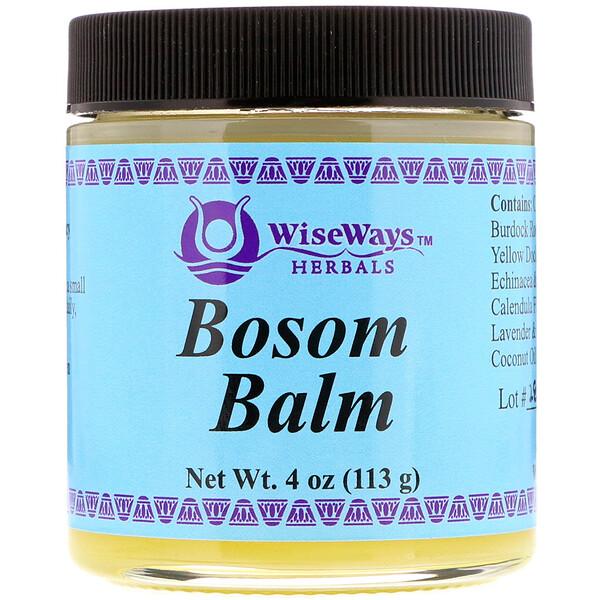WiseWays Herbals, Бальзам для груди, 113 г (4 унции)