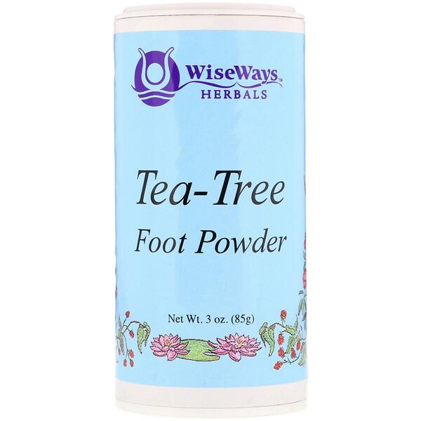 Tea-Tree Foot Powder, 3 oz (85 g)
