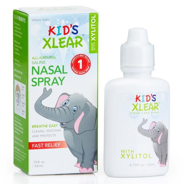 Kid's Xlear, солевой назальный спрей, 22мл