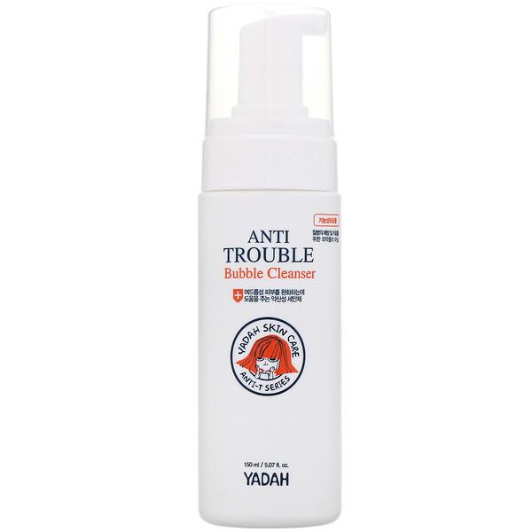 Yadah, Anti Trouble Bubble Cleanser, 5.07 fl oz (150 ml) (Discontinued Item)