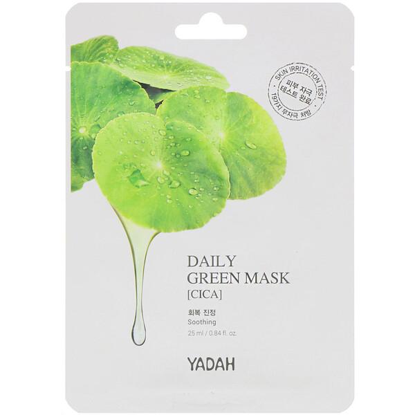 Daily Green Mask, Cica, 1 Sheet, 0.84 fl oz (25 ml)