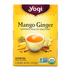 Yogi Tea, Mango Ginger, Caffeine Free, 16 Tea Bags, 1.12 oz (32 g)