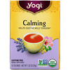 Yogi Tea, Органический, успокаивающий, без кофеина, 16 чайных пакетиков, 1.02 унций (29 г)