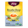 Yogi Tea, Breathe Deep, Caffeine Free, 16 Tea Bags, 1.12 oz (32 g)