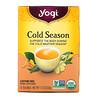Yogi Tea, Органический, Cold Season, без кофеина, 16 чайных пакетиков, 1.12 унций (32 г)