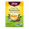 Yogi Tea, Green Tea Kombucha, 16 Tea Bags, 1.12 oz (32 g)