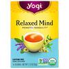 Yogi Tea, Relaxed Mind, органический чай, без кофеина, 16 чайных пакетиков, 32г (1,12унции)