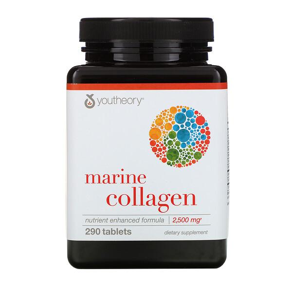 морской коллаген, 2500 мг, 290 таблеток