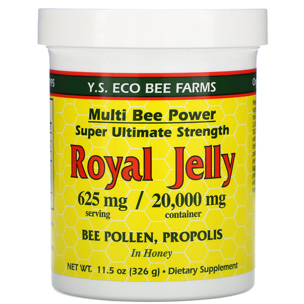Y.S. Eco Bee Farms, Royal Jelly, 625 mg, 11.5 oz (326 g)