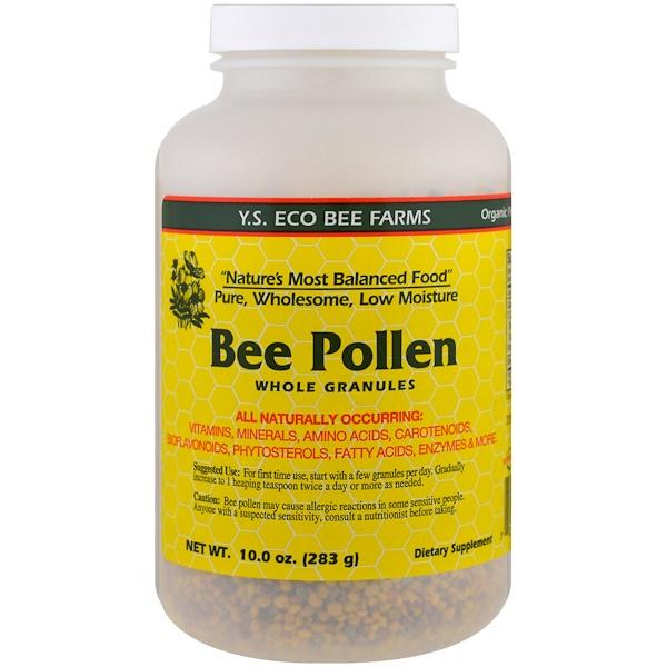 Bee Pollen Granules, Whole, 10.0 oz (283 g)