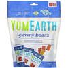 YumEarth, Жевательные мишки, Ассорти вкусов, 10 пакетов со снеками, 0,7 унц. (19,8 г) каждый