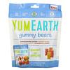 YumEarth, Жевательные мишки, вкусы в ассортименте, 5 упаковок снеков, вес каждой 19,8 г (0,7 унции)