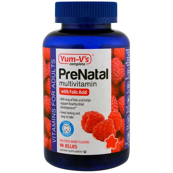 Витамины для беременных с фолиевой кислотой, ягодный вкус, 90 желейных таблеток