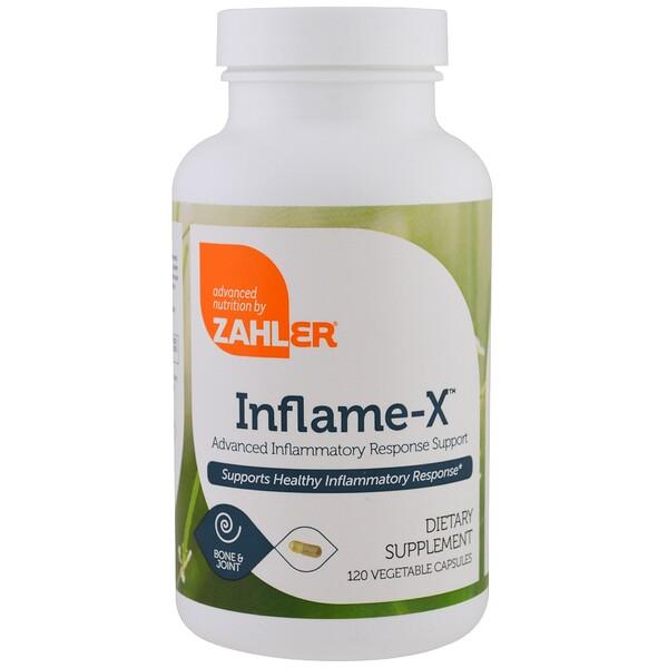 Inflame-X, улучшенная поддержка при воспалительной реакции, 120 растительных капсул