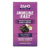 Zand, Immune Fast, сладкая бузина, 30жевательных таблеток