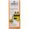 Zarbee's, Children's Cough Syrup, Dark Honey, For Children 12 Months+, Natural Cherry Flavor, 4 fl oz (118 ml)