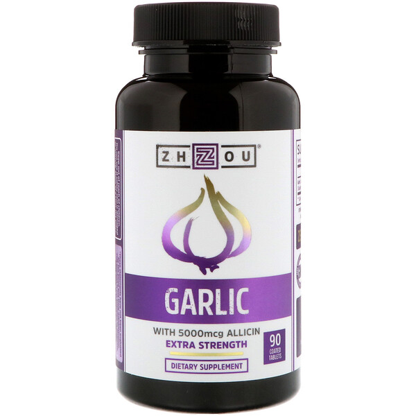 Garlic Extra Strength, 90 Coated Tables