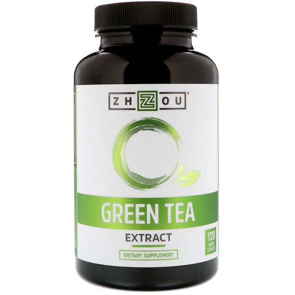 Экстракт зеленого чая, 120 вегетарианских капсул