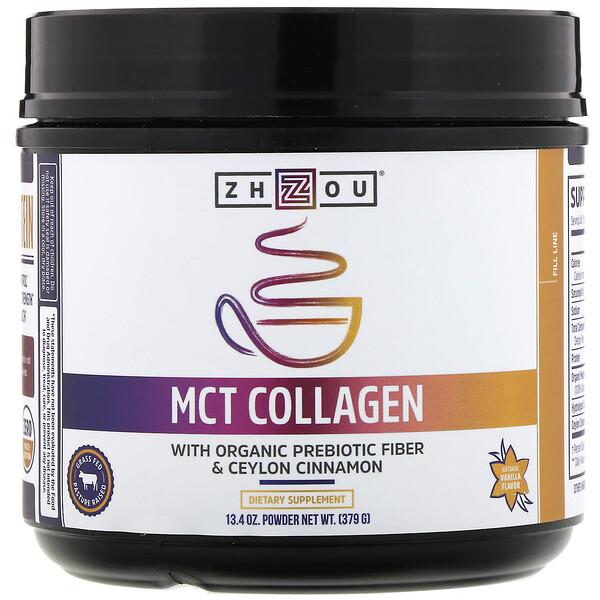 MCT Collagen, Natural Vanilla, 13.4 oz (379 g)
