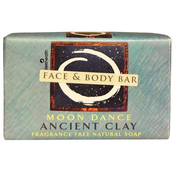 Натуральное мыло из древней глины, лунный танец, без отдушки, 170 г (6 унций)