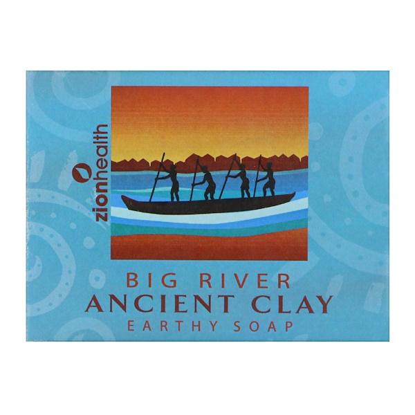 Натуральное мыло из древней глины, Big River, 300 г (10,5 унций)