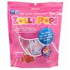 Zollipops, Леденцы на палочке The Clean Teeth Pops, с клубничным вкусом, 15 шт., (3,1 унц.)