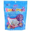 Zollipops, The Clean Teeth Pops, клубника, апельсин, малина, вишня, виноград, ананас, примерно 15 леденцов ZolliPops, 3,1 унции