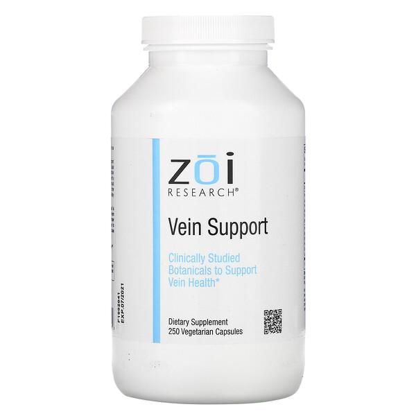 ZOI Research, Поддержка для вен, 250вегетарианских капсул
