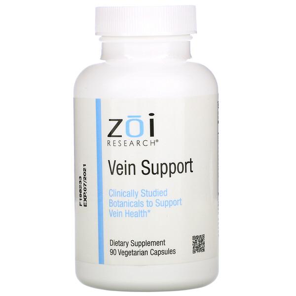ZOI Research, Поддержка для вен, 90растительных капсул